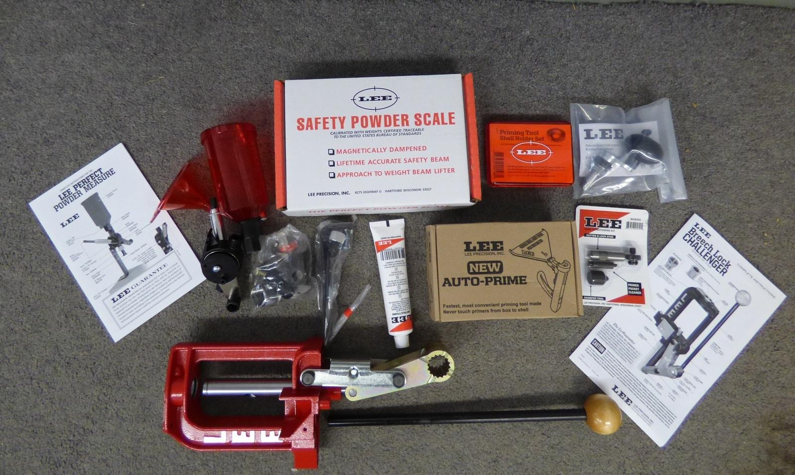 Gunworks Ltd - Lee Breech Lock Challenger Kit Reloading Kit
