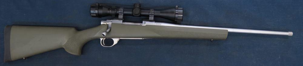 Gunworks Ltd - Howa 1500 rifle 243 scope rings, scope, 35mm