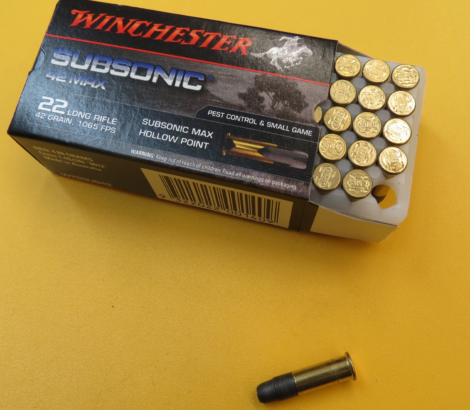 Pest Control In Boutte Mail: Winchester 22LR